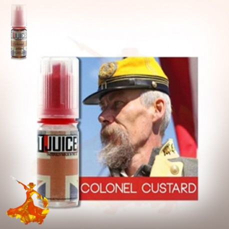 Arômes concentrés Colonel Custard Tjuice 10 ml / 30 ml
