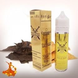 Eliquid Tobaco Gold Bar Treasure Gold Arôme boosté prêt à vaper