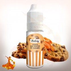Eliquid Cookie aux pépites de caramel Liquideo Tentation