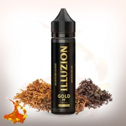 E liquide Gold M Illuzion Arôme boosté prêt à vaper