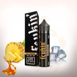 E liquid Freezy Pineapple Fcuking Flava Arôme boosté prêt à vaper