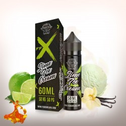 E liquid Lime Ice Cream FFX Fcukin Flava Arôme boosté prêt à vaper