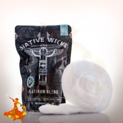 Native Wicks Cotton Platinium