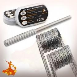 Boîte 8 coils N80 Alpha Braid 2 en 1 F206 - Geek Vape