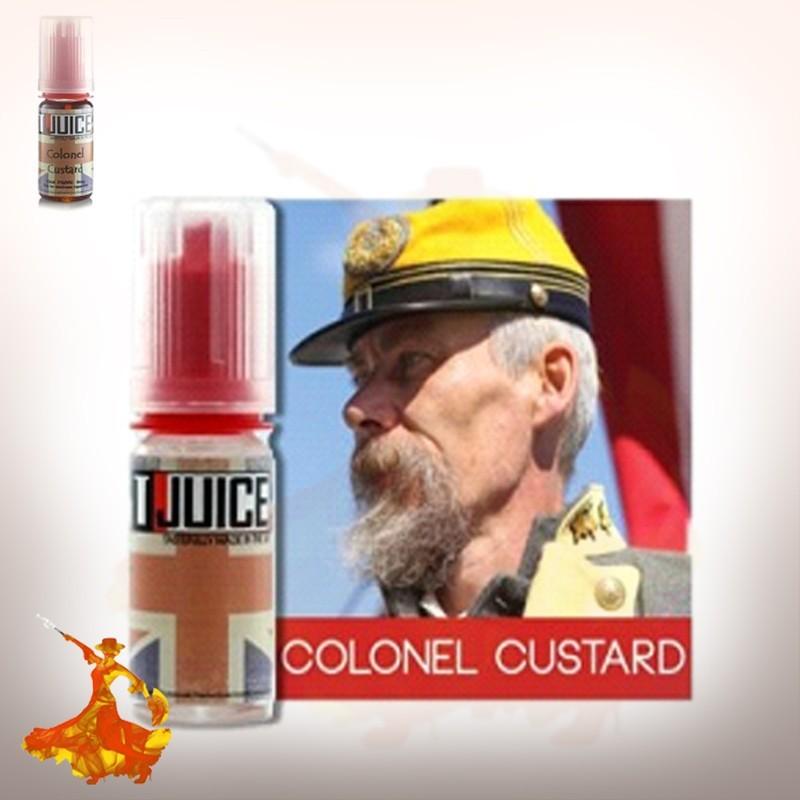 Concentré T-Juice Colonel Custard 10 ml / 30 ml