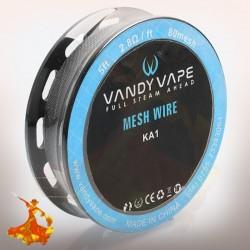 KA1 Mesh wire 80mesh 5ft (2.8Ω/ft) - Vandy Vape