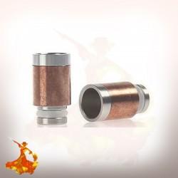 Drip Tip 510  en acier & bronze