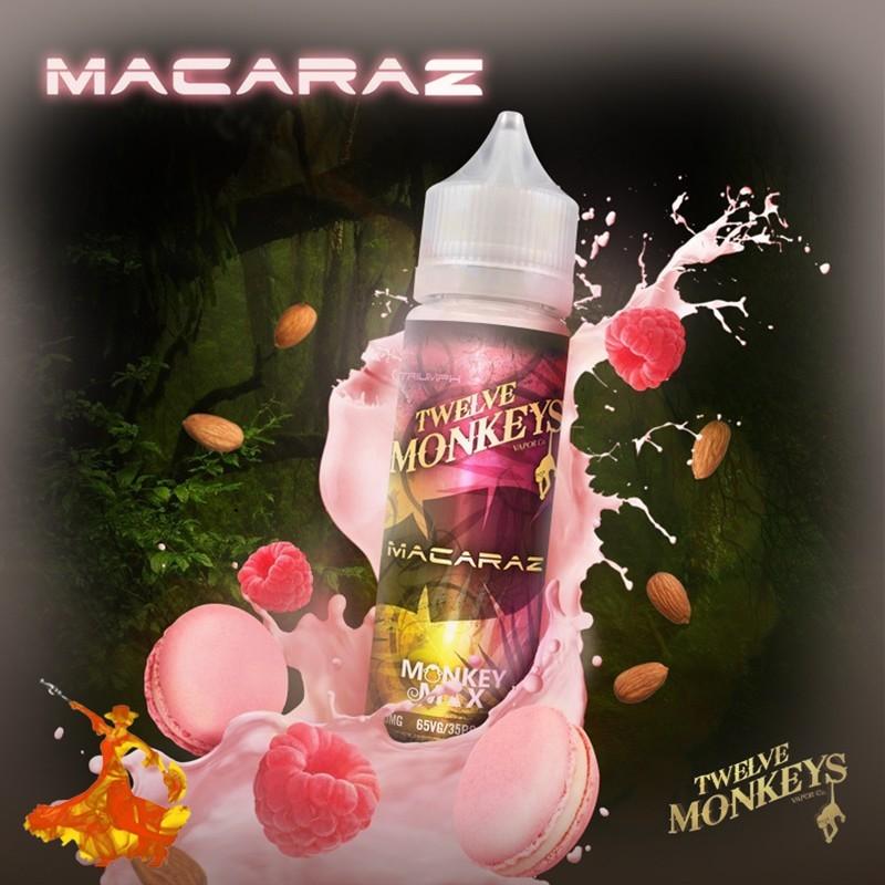 Eliquid Macaraz Twelve Monkeys