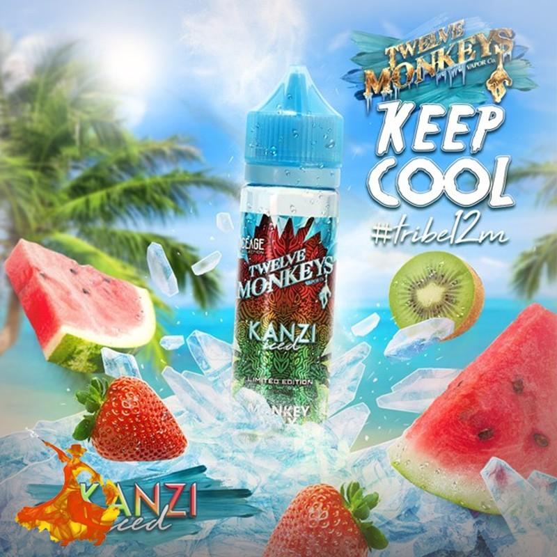 Eliquid Kanzi Iced Twelve Monkeys VAPOR Co. Keep Cool Arôme boosté ( prêt à vaper )