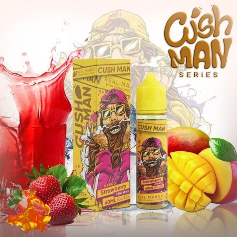 Eliquid Mango Strawberry Cush man Nasty Juice Arôme boosté prêt à vaper