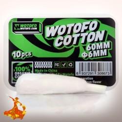 Cotton bio avec aglet 6mm Wotofo