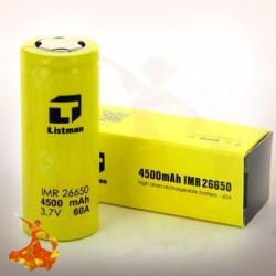 Accu LISTMAN 26650 - 4500MAH - 60A