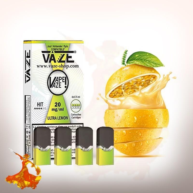 Cartouches pods Ultra Lemon Vaze