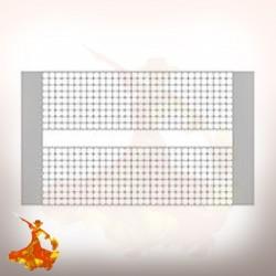 Feuille de mesh Dual M 0.15ohm pour Mesh V2 RDA Vandyvape
