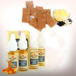 e-liquid Biscuit Sesame Le Coq Prenium