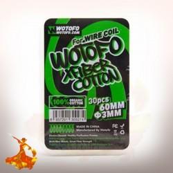 Cotton bio avec aglet 3mm Wotofo